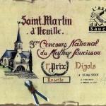 CHAMPION DE FRANCE de la meilleure Rosette à Saint-Martin d'Heuille